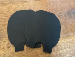 1 Paar Einlagen aus Kunststoff/ TPU      Stärke 4 mm