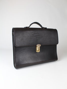 BRIEFCASE M l BISON D'BROWN l 4222