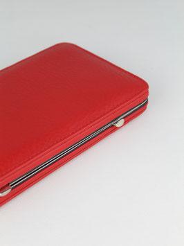 FRAMED WALLET L l RED l 3348