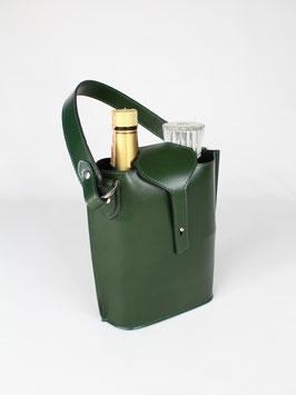 WINE BOTTLE CARRIER l GREEN l 3206