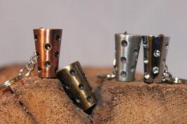 Antike Metall Dubbe Schlüsselanhänger