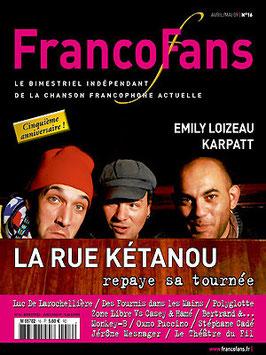 FrancoFans n°16 avril/mai 2009