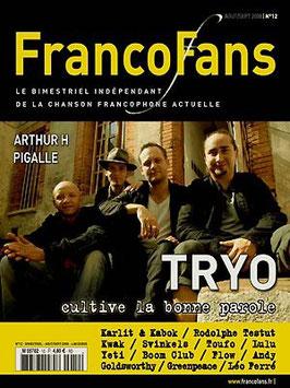 FrancoFans n°12 - août/sept 2008