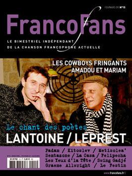 FrancoFans n°15 - fév/mars 2009
