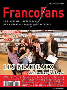 FrancoFans n°24 - août/sept 2010