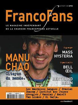 FrancoFans N°15 - août/sept 2005