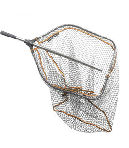 Savage Gear - Pro Folding Rubber Large Mesh Landing Net