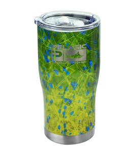 PELAGIC - 20 OZ. INSULATED TUMBLER CUP - DORADO HEX GREEN