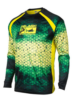 PELAGIC VAPORTEK  DORADO GREEN Technical Shirt