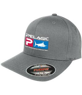 PELAGIC DELUX FLEXFIT CAP - Grey