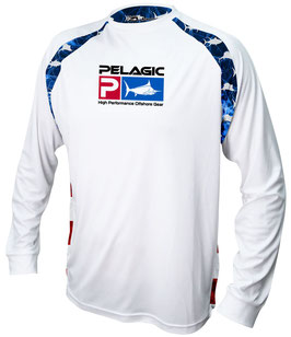 PELAGIC VAPORTEK  AMERICAMO HEX Technical Shirt