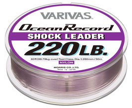 VARIVAS OCEAN RECORD SHOCK LEADER 50mt.