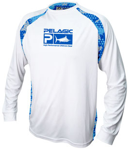 PELAGIC VAPORTEK  SIDELINE AMBUSH Technical Shirt