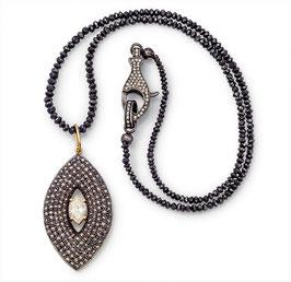 Diamantkette mit Pavéanhänger