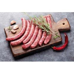Saucisses  porc aux Herbes 14€/kg