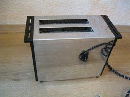 Privileg Toaster, 70er bis 80er Jahre, schwarz chrom