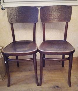 Paar Thonet Stühle um 1930