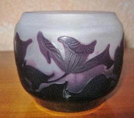 Vase, Jugendstil, St. Louis Nancy