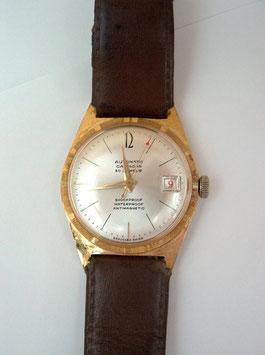 Herren-Armbanduhr, Ebauches Swiss,  Automatik, Datumsanzeige
