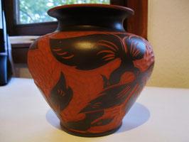 Vase, Keramik, Handarbeit
