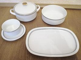 Arzberg: Sauciere,Schüssel mit Deckel,Gemüseschüssel,Fleischplatte