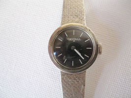 Ciconia Damen-Armbanduhr, 80er Jahre, 835 Silber