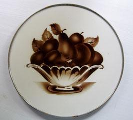Kuchenplatte/Tortenplatte, Art Deco