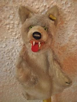 Hand-Wolf/Handpuppe Wolf Loopy von Steiff