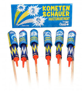 Funke Kometenschauer - 6er Raketensortiment