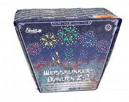 Funke Weißblinker-Dahlien Z-2, 25-Schuss-Batterie