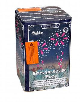 Funke Weissblinker Pink, 16 Schuss Batterie