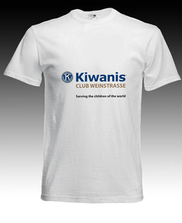 Kiwanis T-Shirt / Ausschnitt rund / Label: «Fruit of the loom»