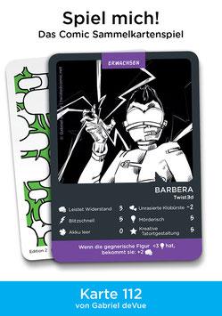 "Spielkarte ""Barbera"""