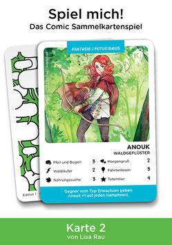 """Spielkarte """"Anouk"""""""