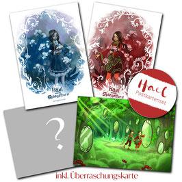 Lisa Rau: Postkarten-Set Hael Din A6