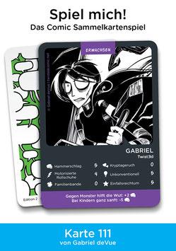 """Spielkarte """"Gabriel"""""""