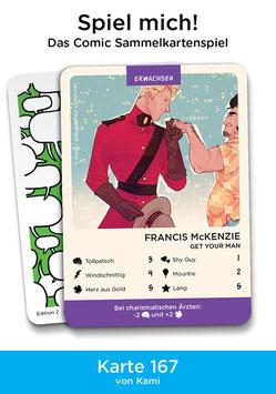 """Spielkarte """"Francis McKenzie"""""""