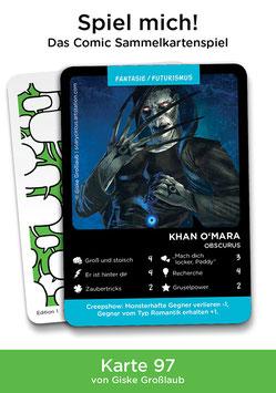 """Spielkarte """"Khan O'Mara"""""""