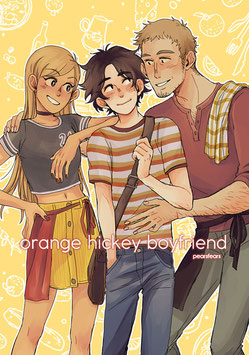 Pearsfears: Orange Hickey Boyfriend