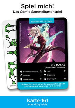 "Spielkarte ""Die Maske"""