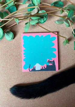 "Slinga: Block ""Planty cat"""