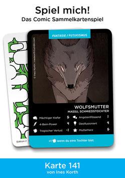 """Spielkarte """"Wolfsmutter"""""""