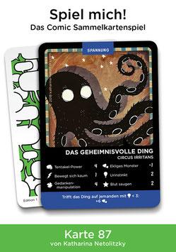 """Spielkarte """"Das geheimnisvolle Ding"""""""
