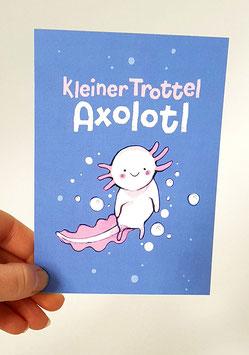 "Postkarte ""Kleiner Trottel"""