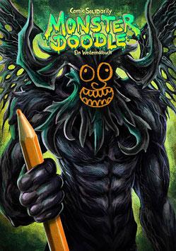 Monster Doodle - Ein Weitermalbuch