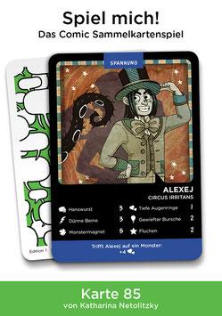 """Spielkarte """"Alexey"""""""