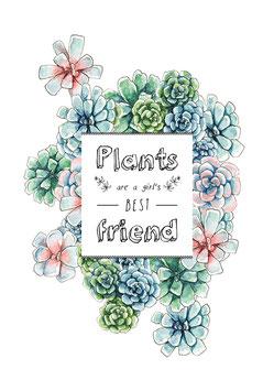 Hanna Wenzel: Pflanzenfreunde