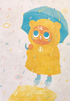 "Paraply: Print ""Rainy Day"""