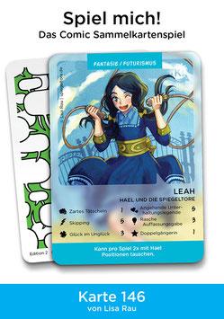"Spielkarte ""Leah"""