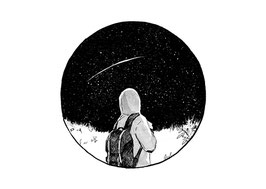Hanna Wenzel: Gedankenrauschen – Nachthimmel